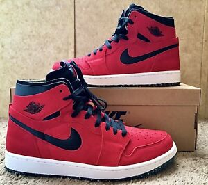 Nike Air Jordan 1 High Zoom Air CMFT Red Suede Size 12🔥Free Shipping 🚚📦