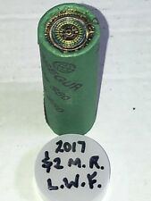 2017 AUSTRALIAN TWO DOLLAR COIN ROLL X 25 LEST WE FORGET