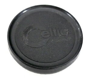 55mm Minolta Celtic Lens Cap - Genuine - Plastic Slip On - VERY GOOD