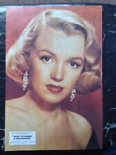 Marilyn Monroe PRINT Rare Vintage 1988 Pinup How To Marry A Millionaire Film OOP