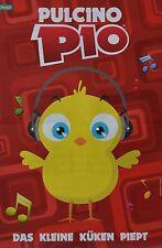 PULCINO PIO-POSTER a3 (circa 42 x 28 cm) - Musica Manifesto il piccolo pulcini Passerotti