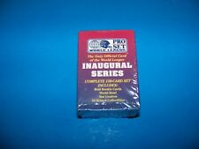 Pro Set World League Inaugural Series  Trading Cards 1991