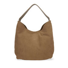 Tory Burch Marion Suede Hobo Bag - River Rock