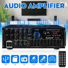 2000W HiFi Verstärker Auto Home bluetooth Vollverstärker Amplifier Digital