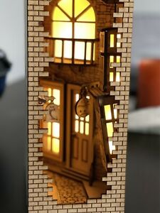 Magic Alley Book Nook DIY Kit Diagon Alley Style