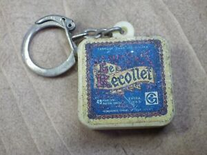 Keyring Retro Vintage Year 60-70 Cheese The Recollet Keyring/D16