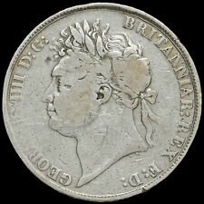 More details for 1822 george iv milled silver tertio crown