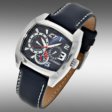 Chronotech Genuine Multi Function F1  Mens Watch Prismatic Crystal NEW in Box