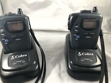 2 Cobra Chargable Microtalk Walkie Talkies FRS GMRS 14  Channels Charger
