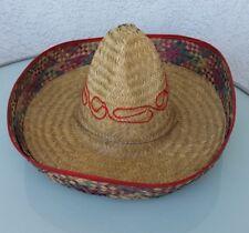 "Sombrero, Mexikaner-Hut, Strohhut, Party, ""Malle"", Fasching, Top-Zustand"