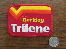 Vintage Mint Fishing Patch - BERKLEY TRILENE (old logo - heart) - 4  inch