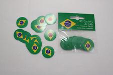 Brasilien Konfetti Tischdekoration Streudeko 150 Stück Tischkonfetti