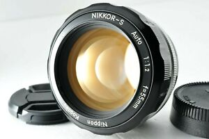 [Near Mint] Nikon NIKKOR 55mm f/1.2 MF Prime Lens by DHL from Japan #1114