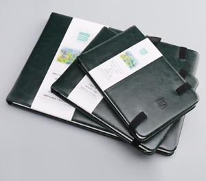 BAOHONG academy Watercolor Travel Journal,4.7'' x 6.3'',100% cotton,24 sheets
