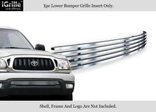 Fits 01-04 Toyota Tacoma Lower Bumper Stainless Steel Billet Grille Insert