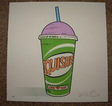 THE SIMPSONS poster print SQUISHEE Kwik-E-Mart fictional food Joshua Budich