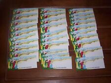 30 Unused Vintage Christmas Gift Tags Wise Men All One Designs Glitter Lot K