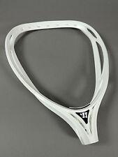 NEW Warrior Nemesis 2 Goalie LAX Lacrosse Head White Unstrung Retail $109 b2a1