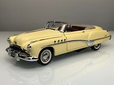 Franklin Mint 1949 Buick Roadmaster Convertible Old Ivory 1:24 Diecast Car