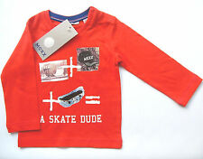 LA Shirt Skater Gr.74 Mexx NEU m.E 100% Baumwolle rot baby
