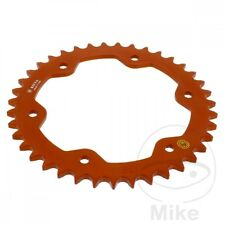 For KTM Super Duke 1290 R ABS 2014 Sitta Orange Alloy Rear Sprocket (39 Teeth)