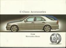 MERCEDES BENZ E CLASS SALOON ESTATE ACCESSORIES SALES BROCHURE + PRICES MAY 1997