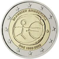 Grecia 2009 Emu Decenal Unión Económico Y Monetaria