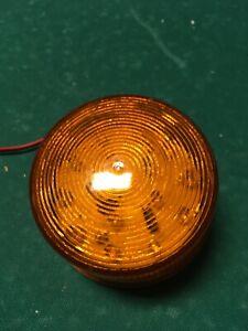 12V-Blitzleuchte gelb