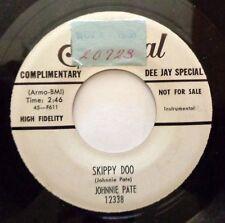 JOHNNIE PATE 45 cannon ball rock / Skippy doo FEDERAL DJ M- R&B GL26