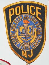 KEAN COLLEGE New Jersey State Campus Police Kean University NJ PD patch