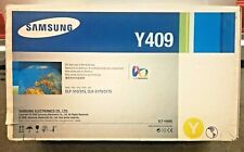 Samsung Y409 Yellow Toner Cartridge CLT-Y409S Authentic Genuine OEM Sealed NIB