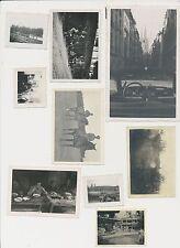 Foto Konvolut  9 Stück 2.WK gemischt (f558)