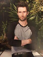 Adam Levine 8pg + cover NYLON GUYS magazine feature, clippings