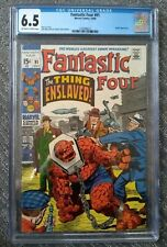 Fantastic Four #91 CGC 6.5 10/69 Off-white to White Pages Stan Lee/Jack Kirby