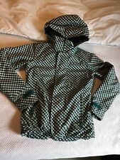 Burton Womens DryRide Plaid Hooded Ski Jacket