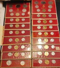 17 Serie/divisionale Stato Città Vaticano Paolo VI dal 1963 al 1978 (NO argento)