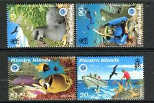 1998 Pitcairn Island UNESCO International Year of The Ocean MUH Set of 4 Stamps
