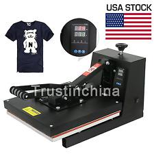 "Digital Clamshell Heat Press Transfer T-Shirt Sublimation Machine 15"" x 15"""