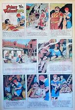 Prince Valiant by Hal Foster - scarce full page Sunday comic - February 1, 1970