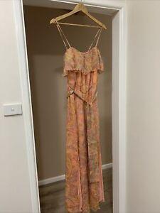 Tigerlily Silk Jumpsuit