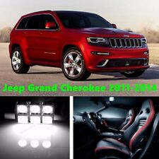 16 LED Xenon White Light Interior Package Kit for Jeep Grand Cherokee 2011-2014