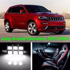 16 LED Xenon White Light Interior Package Kit for Jeep Grand Cherokee 2011-2014