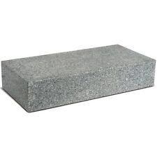 Granit Blockstufe 15X35X100 cm Allseitig gesägt, geflammt, Kanten, gefast grau