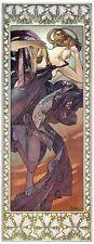 Evening Star 1902 Alphonse Mucha Reproduction Art Nouveau Deco Poster Print NEW