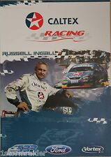V8 Supercars Russell Ingall SBR Poster Excellent Cond Never Hung and Stored Flat