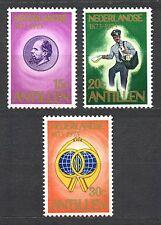 Dutch Antilles - 1973 Stamp centenary Mi. 266-68MNH
