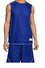 Custom PosiCharge Mesh Reversible Sleeveless Jersey Soccer Basketball
