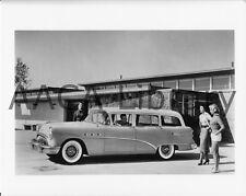 1954 Buick Model 69 Century Estate Wagon by School, Factory Photo (Ref. # 28461)