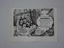 advertising Pubblicità 1947 VINI CASA VINICOLA BARONE RICASOLI - FIRENZA