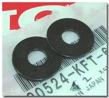 HONDA 2 8MM BLACK WASHERS FOR GL1500CF TAILLIGHT & VT600C VT750D REAR BRAKE ARM